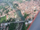 Flug an den Gardasee